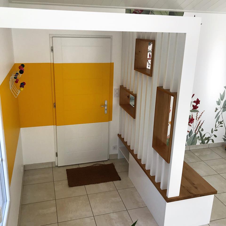 Agencement Entree De Maison amenagement interieur - hall d entree original - cuisines viaud