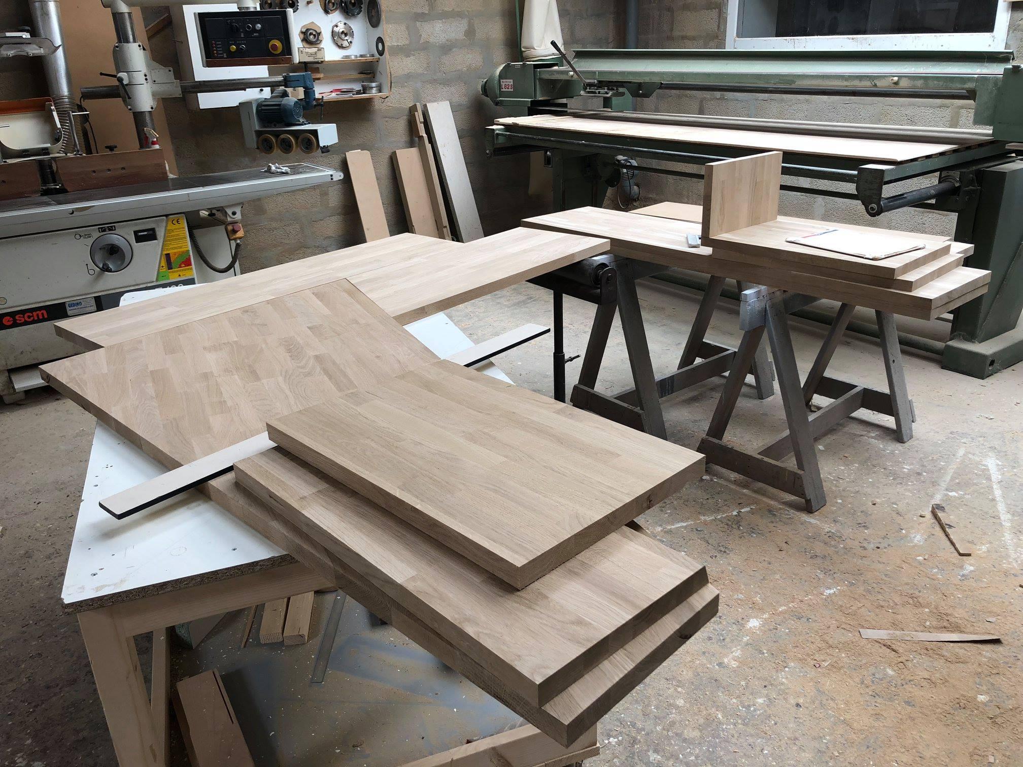 Fabrication Bureau sur-mesure – Agencement interieur G Viaud