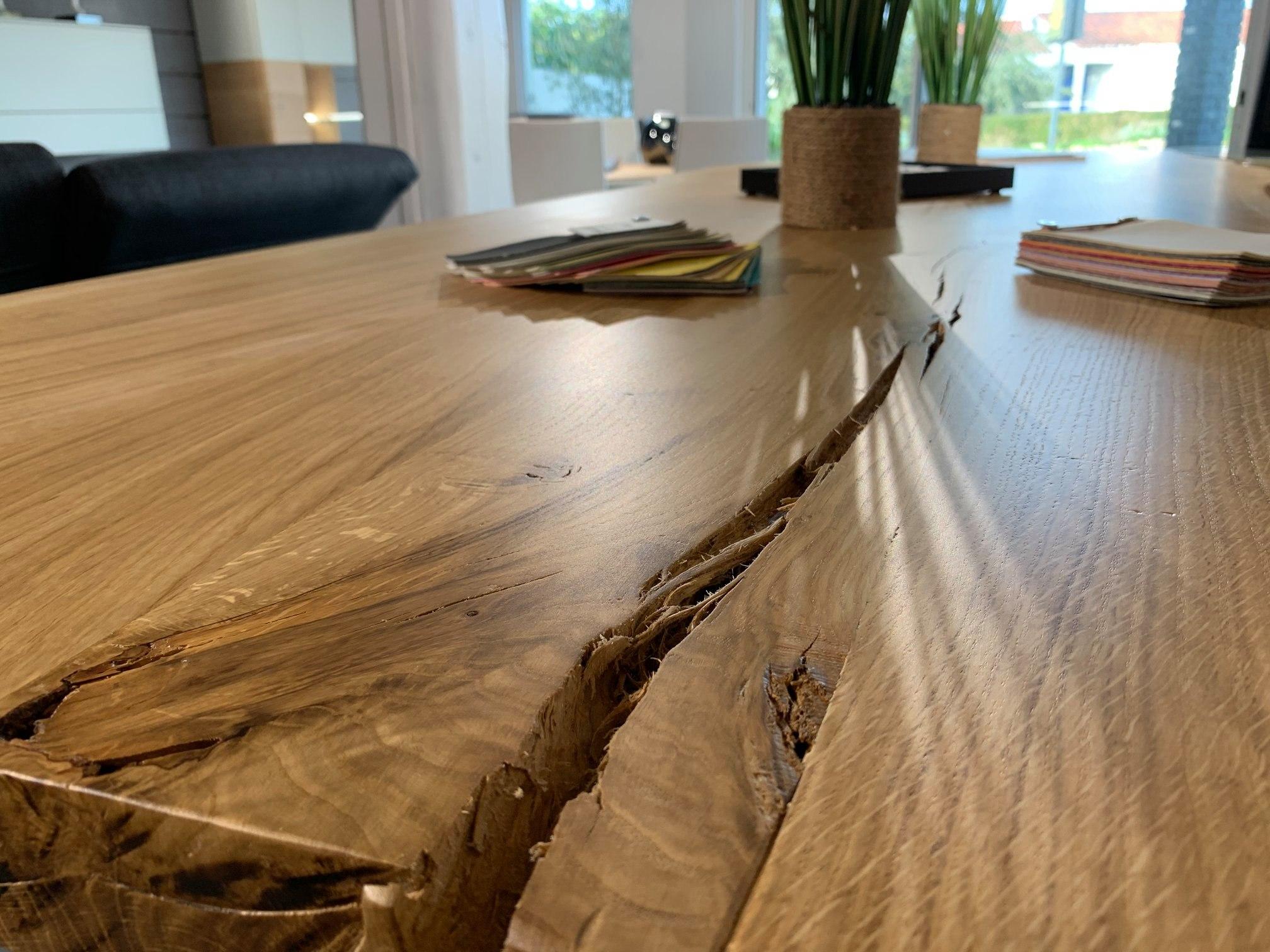 Fabrication Table en chene massif sur mesure Vendee Artisan G Viaud5